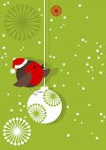 Robin On Bauble