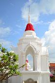 Thai Weiße Pagode