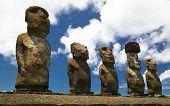 Tongariki Ahu Moais- Rapa Nui - Easter Island