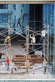 Scaffolders Scaffolding High Rise