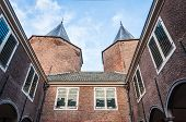 Closeup Of An Old Dutch Castle