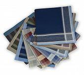 Set of many handkerchiefs