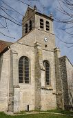 Val D Oise, The Old Church Of Wy Dit Joli Village