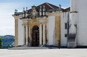 Patio Of The Coimbra University