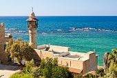 Sea Mosque In The Ancient Jaffa
