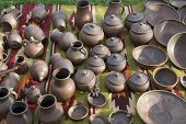 Ukrainian Traditional Cooking Pots poster