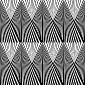 Abstract Background In Black And White Tones