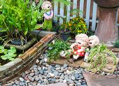 Garden Ornament Doll
