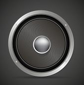 Sound Loud Audio Speaker Vector Illustration
