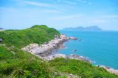 Beautiful coastline at south chinese ocean