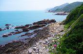 Beautiful coastline at south china