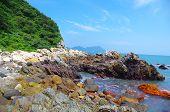 beautiful byland of seaside at south china