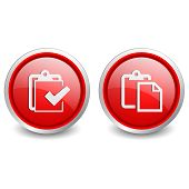 2 popular buttons - red checklist