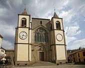Church Of San Martino Al Cimino. Lazio. Italy.