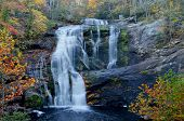 Calvo River Falls en octubre, Tellico Plains, Tn Usa