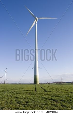 Picture or Photo of Some of the wind energy generators from Marsfeld - Germany