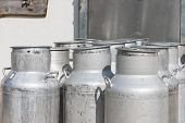 silver milk candles