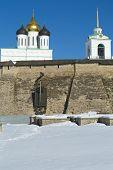 Oude Pskov Kremlin