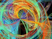 Bursting Abstract  Design