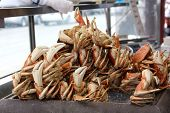 Crabs On Display At Fisherman's Wharf