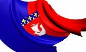 Постер, плакат: Флаг Парижа Франция