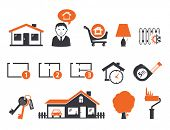 Inmobiliaria icons set 05 Best Buy