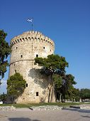 White tower in Salonika - Greece