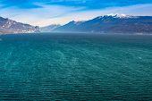 Costa do Lago de Garda, Desencano, Itália (la Rocca, Isolda Di San Biagio, Punta S.felice, Fasano, Gardo