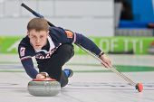 INNSBRUCK, AUSTRIA - JANUARY 20 Mikhail Vaskov (RUS) and his partner from the Czech Republic beat te