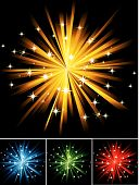 Abstract Star Firework
