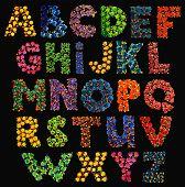 Grungy ABC