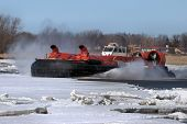 Canadian Coast Guard Hovercraft