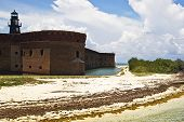 Fort Jeferson At Dry Tortugas Florida