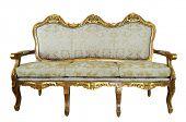 Classic Sofa. Isolated