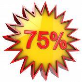 Star Off Seventy Five Percent