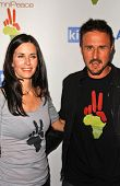 Courteney Cox and David Arquette at the OmniPeace Benefit To Stop Extreme Poverty in Sub-Saharan Africa. Kitson Men, Los Angeles, CA. 06-21-07