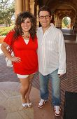 Kaycee Stroh and Sean Astin at the Southern California Childrens Theatre Production of