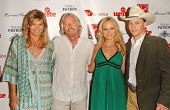 Mariel Hemingway and Richard Branson with Jewel and Ty Murray at Rock The Kasbah presented by Virgin Unite. Roosevelt Hotel, Hollywood, CA. 07-02-07