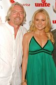 Richard Branson and Jewel at Rock The Kasbah presented by Virgin Unite. Roosevelt Hotel, Hollywood, CA. 07-02-07
