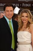 John Travolta and Michelle Pfeiffer at the Los Angeles premiere of