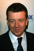 Peter Morgan at the celebration for the Oscar nominated films