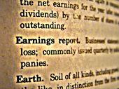 Dictionary Earnings Report
