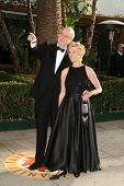 John Cleese and Alice Faye Eichelberger at the 2007 Vanity Fair Oscar Party. Mortons, West Hollywood, CA. 02-25-07