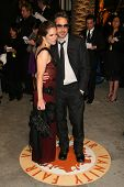 Robert Downey Jr. and wife Susan at the 2007 Vanity Fair Oscar Party. Mortons, West Hollywood, CA. 0