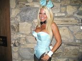 Tina Jordan at the Milwaukee's Best Party, Playboy Mansion, Beverly Hills, CA 03-08-07