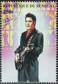 Presley - Senegal Stamp 8