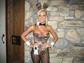 Katie Lohmann at the Milwaukee's Best Party, Playboy Mansion, Beverly Hills, CA 03-08-07