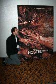 Eli Roth at the ShoWest 2007 Lionsgate Luncheon. Paris Hotel, Las Vegas, NV. 03-14-07
