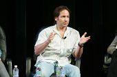 David Duchovny at the ShoWest 2007 Independent Film Takes Center Stage Seminar presented by Yahoo. P