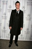 J.C. Chasez at day one of the 2007 Mercedes-Benz Fashion Week Fall Collection. Smashbox Studios, Cul